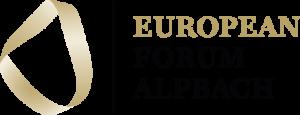 Logo Alpbach Bildschirm transparent